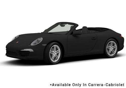 Porsche 911 Black - Cabriolet Color