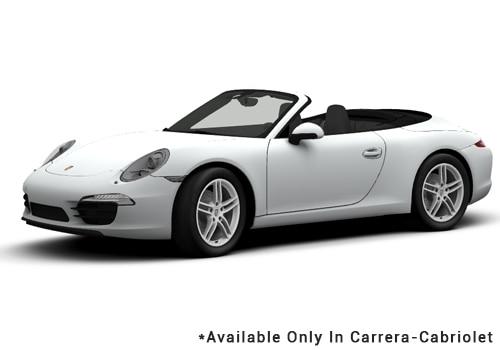 Porsche 911 White - Cabriolet Color