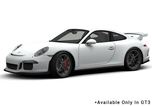 Porsche 911 White - GT3 Color