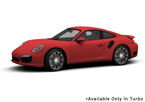 Porsche 911 Guards Red - Turbo Color