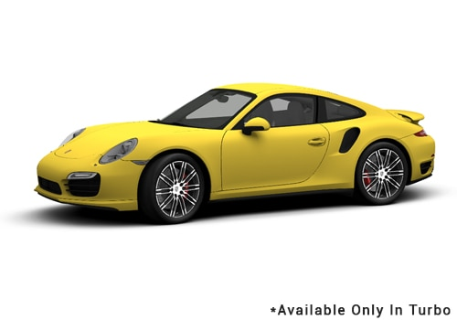 Porsche 911 Racing Yellow - Turbo Color