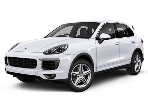 Porsche Cayenne Carrara White Color