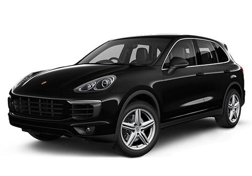 Porsche Cayenne Jet Black Metallic Color