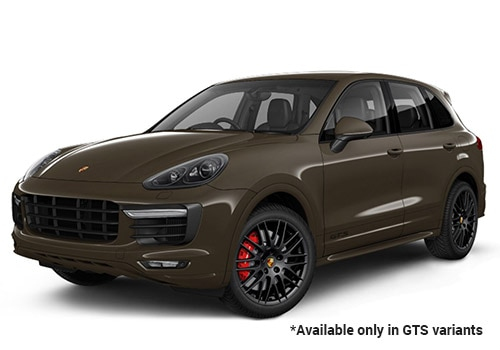 Porsche Cayenne Umber Metallic GTS Variant Color