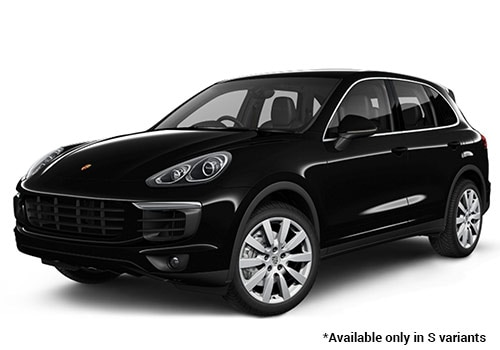 Porsche Cayenne Black S Variant Color