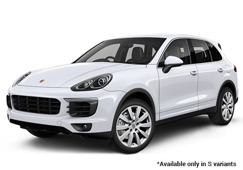 Porsche Cayenne Carrara White Metallic S Variant Color