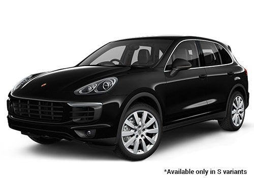 Porsche Cayenne Jet Black Metallic S Variant Color