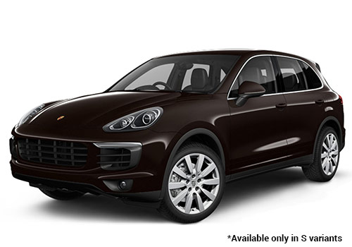 Porsche Cayenne Mahogany Metallic S Variant Color