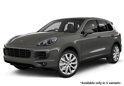 Porsche Cayenne Meteor Grey Metallic S Variant Color