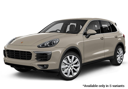 Porsche Cayenne Palladium Metallic S Variant Color