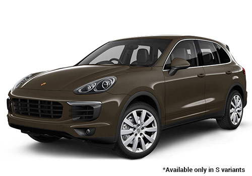 Porsche Cayenne Umber Metallic S Variant Color
