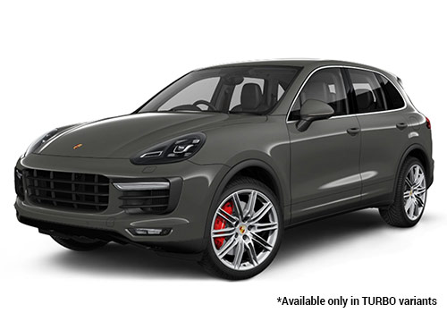 Porsche Cayenne Meteor Grey Metallic Turbo Variant Color