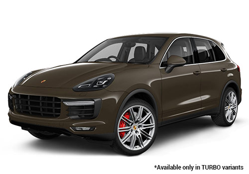 Porsche Cayenne Umber Metallic Turbo Variant Color