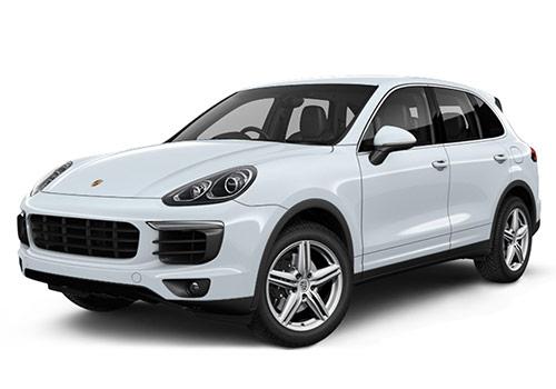 Porsche Cayenne Rhodium Silver Metallic Color
