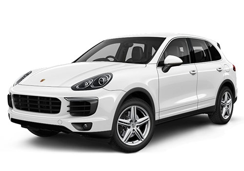 Porsche Cayenne White Color