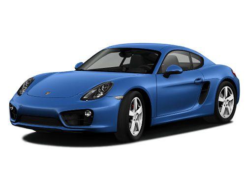 Porsche CaymanSapphire Blue Color