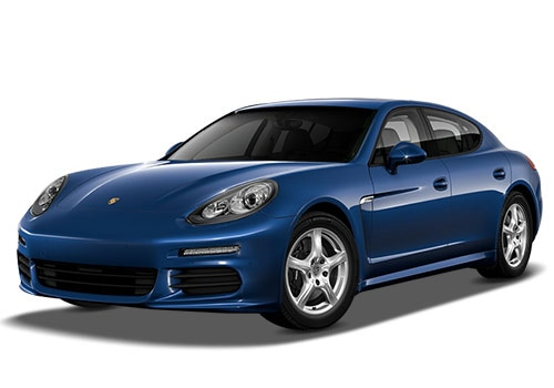 Porsche Panamera Dark Blue Metallic Color