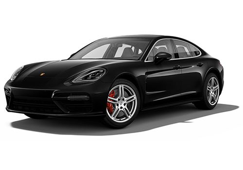 Porsche Panamera Jet Black Metallic Color
