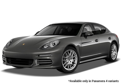 Porsche Panamera Agate Grey Metallic 4 Variant Color