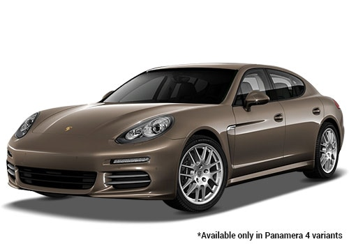 Porsche Panamera Chester Brown Metallic 4 Variant Color