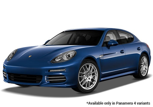 Porsche Panamera Dark Blue Metallic 4 Variant Color