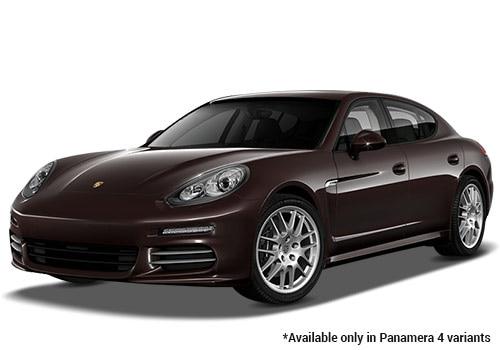Porsche Panamera Mahogany Metallic 4 Variant Color