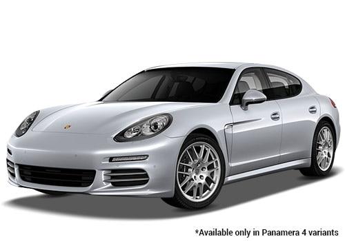 Porsche Panamera Rhodium Silver Metallic 4 Variant Color