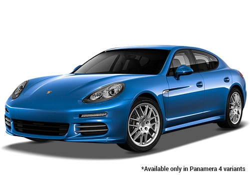Porsche Panamera Sapphire Blue Metallic 4 Variant Color