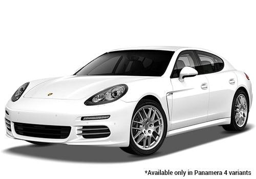Porsche Panamera White 4 Variant Color