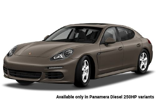 Porsche Panamera Chester Brown Metallic Diesel 250HP Variant Color