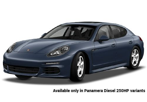 Porsche Panamera Yachting Blue Metallic Diesel 250HP Variant Color