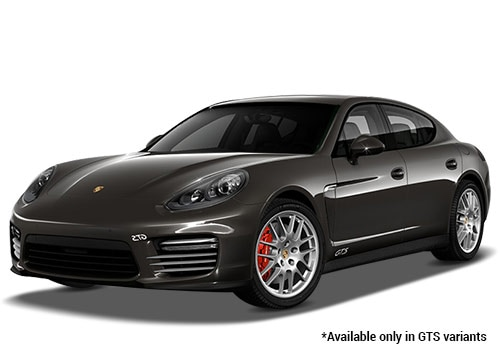 Porsche Panamera Carbon Grey Metallic GTS Variant Color