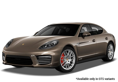 Porsche Panamera Chester Brown Metallic GTS Variant Color