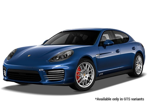 Porsche Panamera Dark Blue Metallic GTS Variant Color