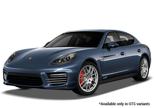 Porsche Panamera Yachting Blue Metallic GTS Variant Color