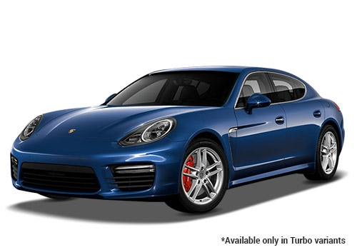 Porsche Panamera Dark Blue Metallic Turbo Variant  Color