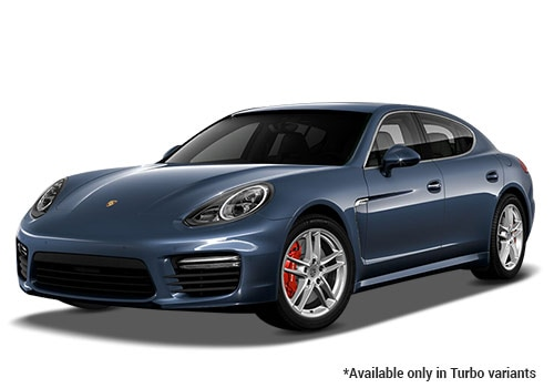 Porsche Panamera Yachting Blue Metallic Turbo Variant  Color