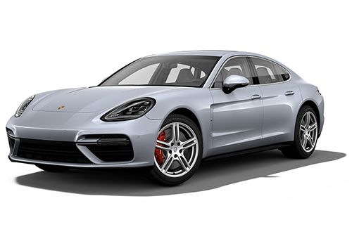 Porsche Panamera Rhodium Silver Metallic Color