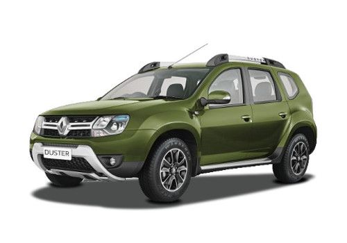 Renault Duster Amazon Green Color