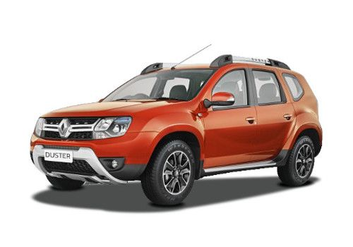 Renault Duster Cayenne Orange Color