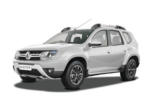 Renault Duster Pearl White Color