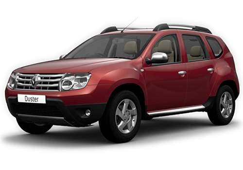 Renault Duster 2012-2015 Metallic  Fiery Red Color