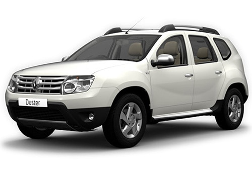 Renault Duster 2012-2015 Pearl Supreme White Color