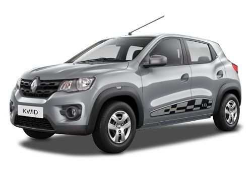 Renault KWID Moonlight Silver Color