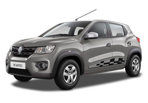 Renault KWID Planet Grey Color