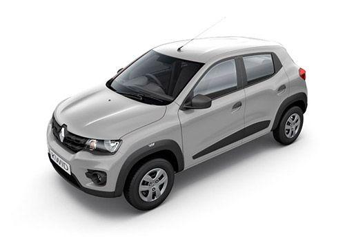 Renault KWID Moonlight Silver Color