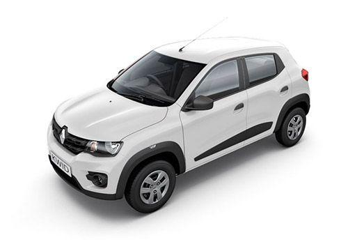 Renault KWID ICE Cool White Color