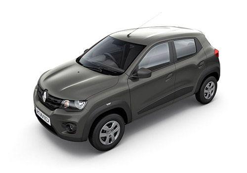 Renault KWID Planet Grey Color