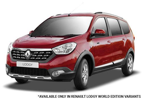 Renault LodgyFiery Red World Edition Color