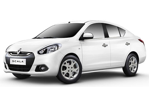 Renault Scala Pearl White Color